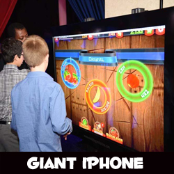 Giant iPhone