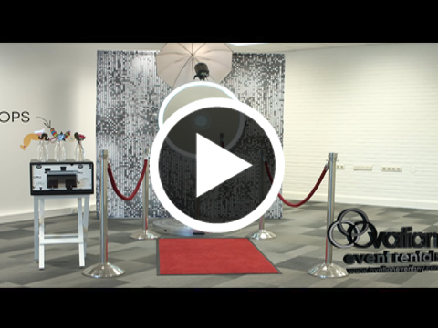 Mirror Me Photo Booth Rentals by Ovation Event Rentals
