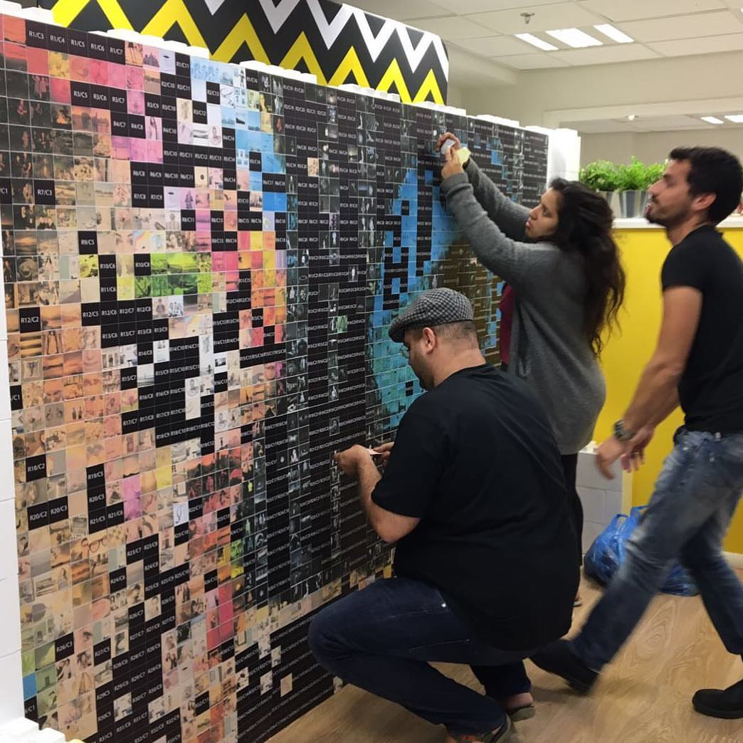 Photo Mosaic Brand Activation Nyc