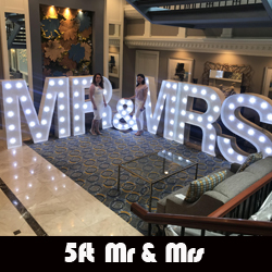5ft Mr And Mrs