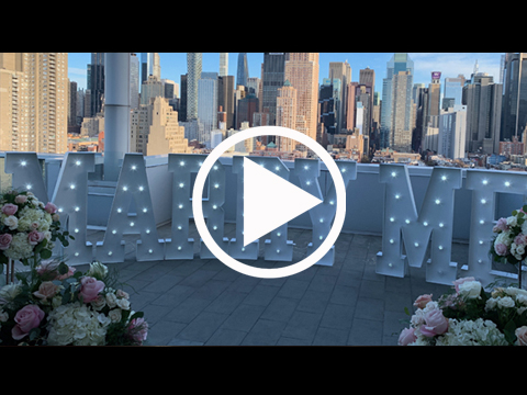 Wedding Proposal Video by Ovation Event Rentals