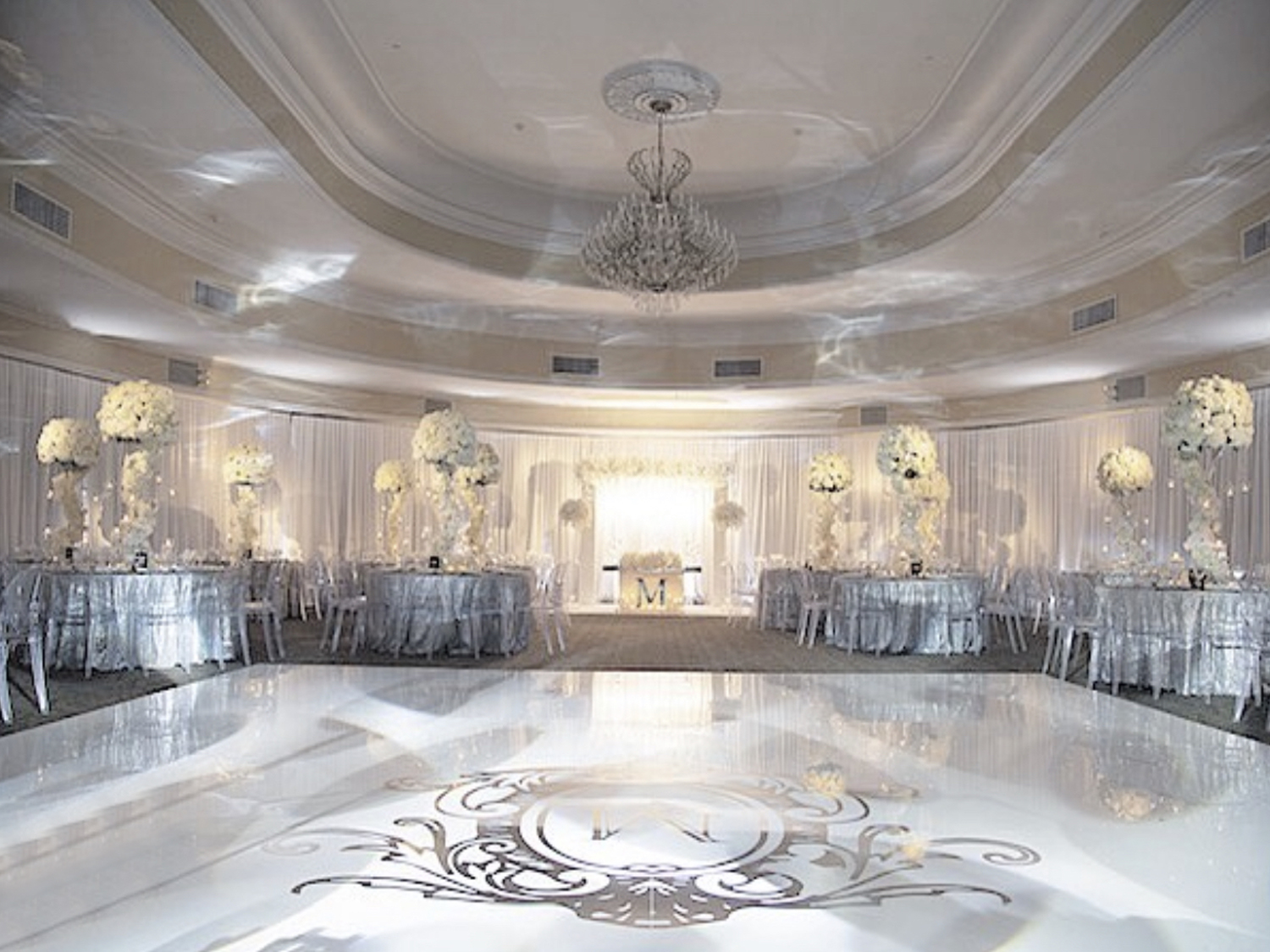 Hire White Dance Floor Nyc