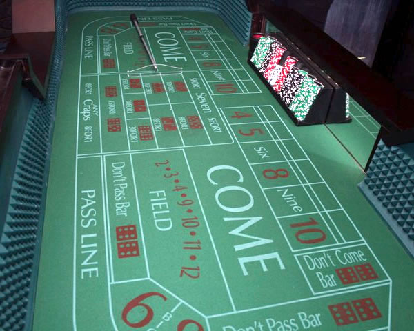 craps table rental ny