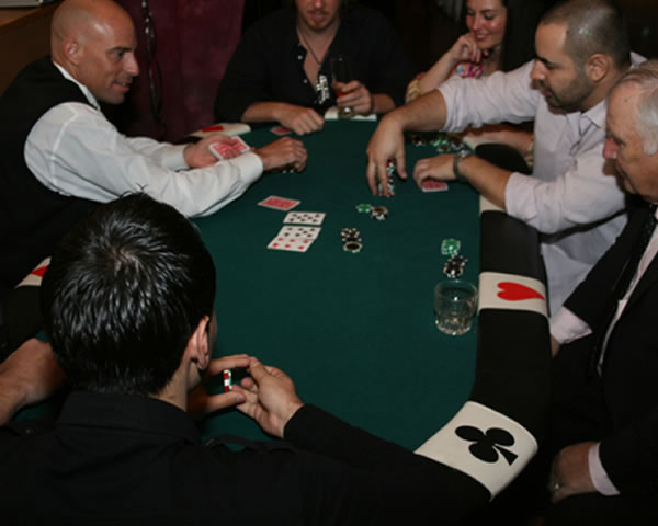 poker table rental ny