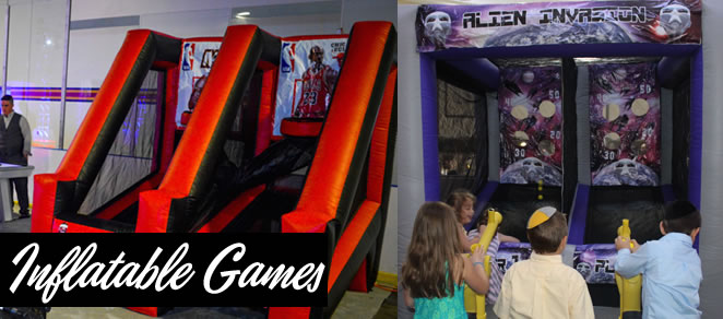 inflatable games rentals ny