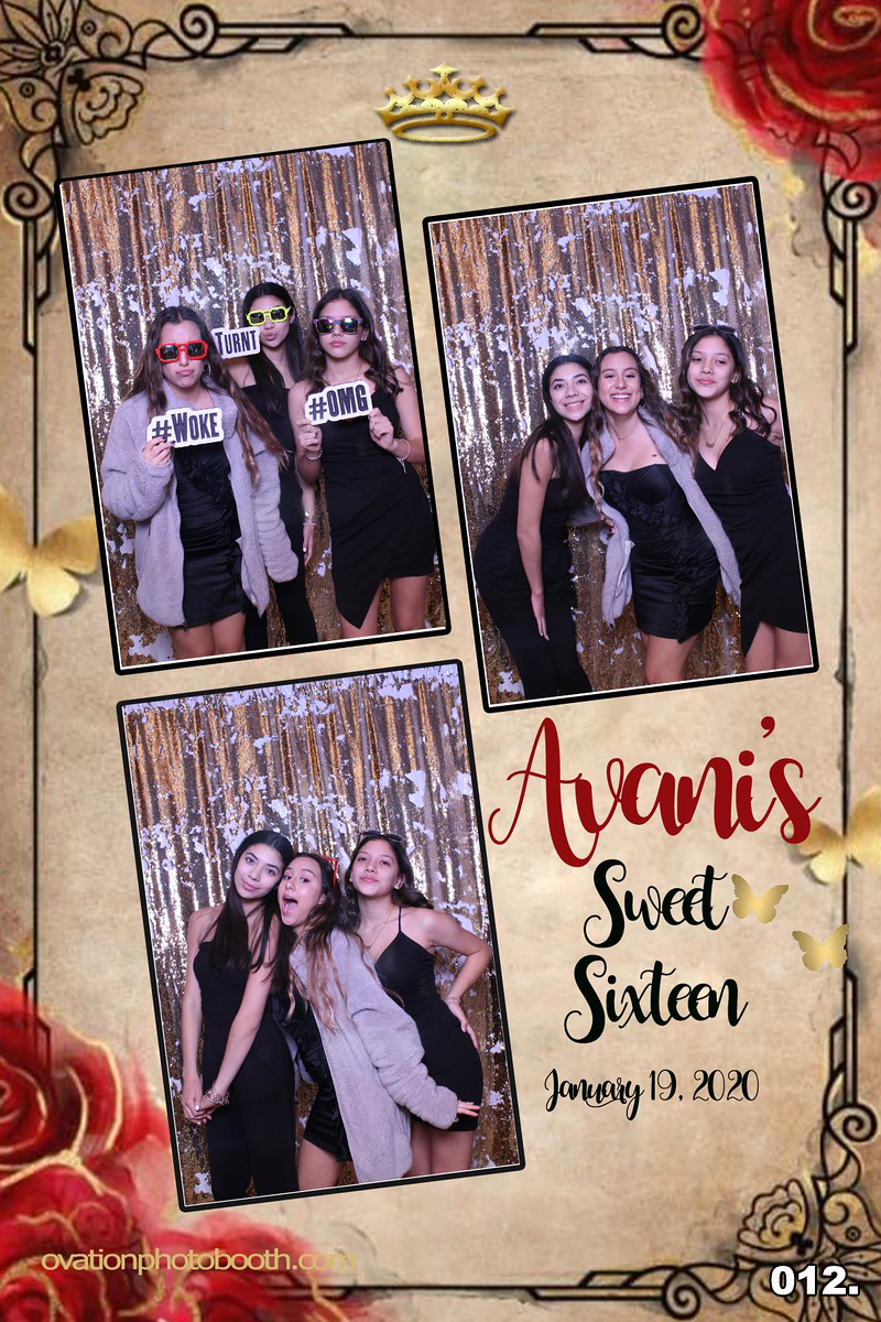 Sweet 16 Photo Booth Baltimore Maryland