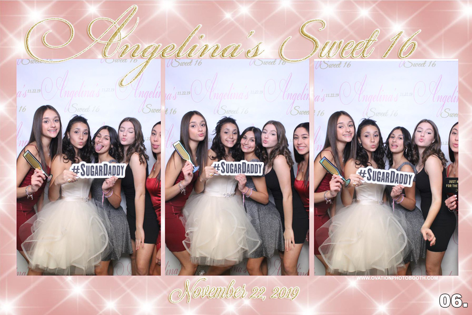 Sweet 16 Photo Booth Rental Long Island